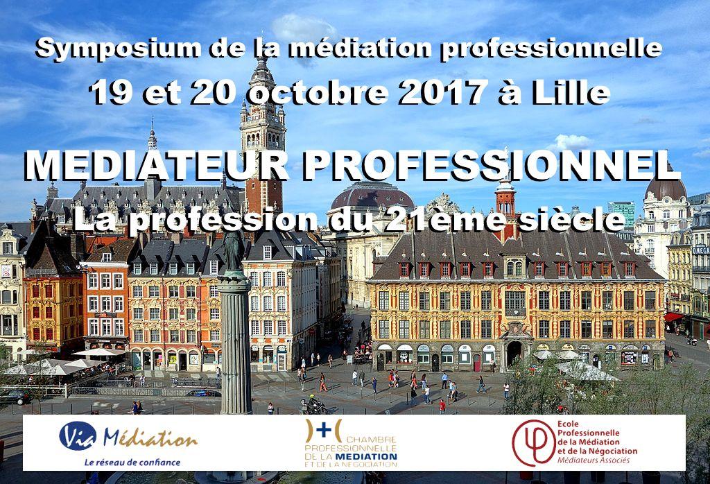 Symposium de la m diation professionnelle m diateur - Chambre professionnelle de la mediation et de la negociation ...