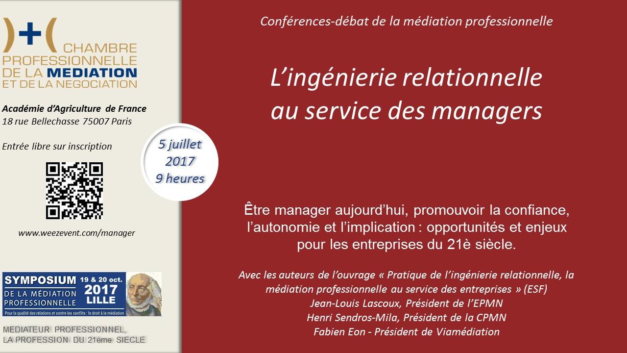L'ingénierie relationnelle au service des managers et dirigeants d'entreprise