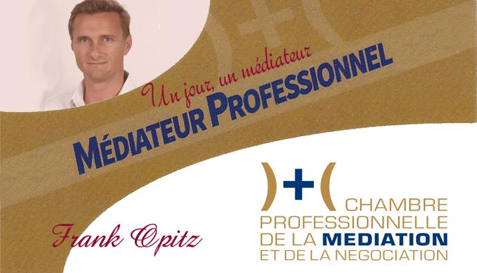 Un jour, un médiateur : Franck Opitz