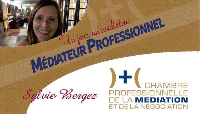 Un jour, un médiateur : Sylvie Bergez